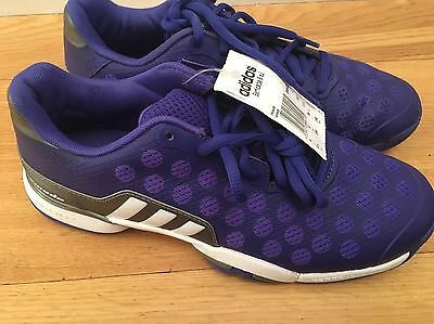 Adidas Barricade 9xJ Junior Tennis Shoes Size UK 6 BRAND NEW WITH TAGS!