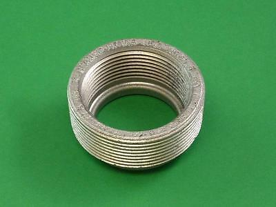 """COOPER CROUSE HINDS RE65 Threaded Iron Alloy 2"""" x 1-1/2"""" Reducing Bushing"""