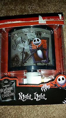 Disney Nightmare Before Christmas Night Light  NIB
