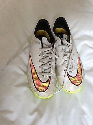 Boys Nike Mercurial football astro boots size 5