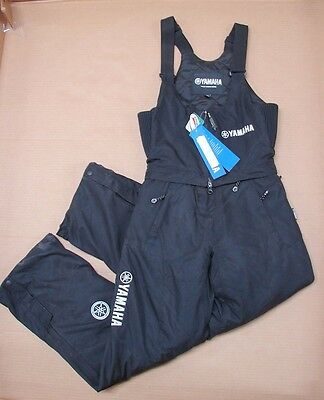 New NOS Yamaha Womens Destiny Snowmobile Bib Black Snowpants Extra Small XS