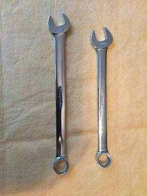 "Snap-On 11/16"" 12-Point Combination Wrench Oex22"