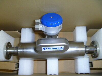 "1"" Krohne Optimass 1000 S25 Mass Flow Meter w/Converter&Calibration 2011 B NEW"