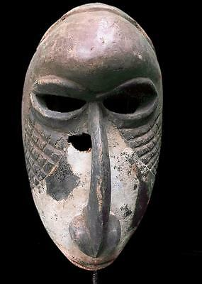 Old  Tribal Kuba  Mask ---  Congo
