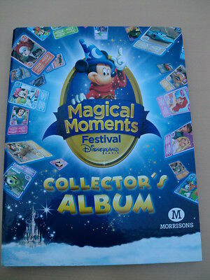 Magical Moments Festival Disneyland Collector's Album (almost complete - 3 miss