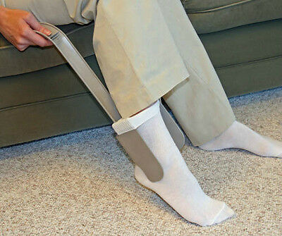Sock Aid Helps Put Your Socks On Easy - SEE VIDEO - EASY TO USE! New Sock Horse