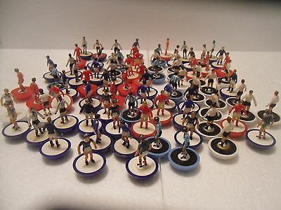 Subbuteo Lw & Zombie Players X80 Approx Unboxed.
