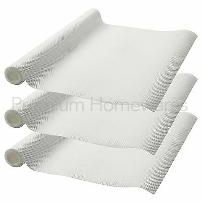 3 x Rolls of IKEA VARIERA Non-Slip Kitchen Drawer/Cupboard Liner Mat (150x50cm)