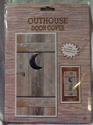 "New - Wild West Western ""outhouse Door Cover"" Prop"