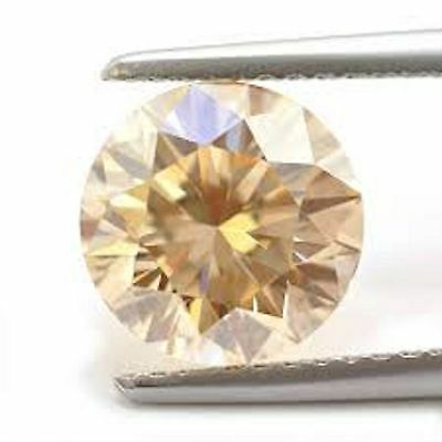 0.23 CTS Excellent Quality Champagne Yellow NATURAL DIAMONDS- VS2