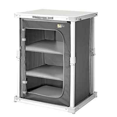 CamPart CU-0724 Travel Camping Foldable Cupboard with 3 Layers