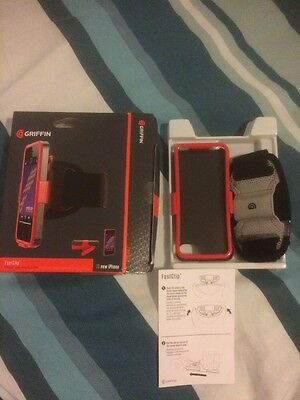 Griffin FastClip Armband+case+beltclip & Stand for iPhone 5 5s SE BNIB