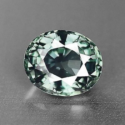 0.93 Cts Very Rare Top Quality Green Color Natural Sapphire Gemstones-Vs