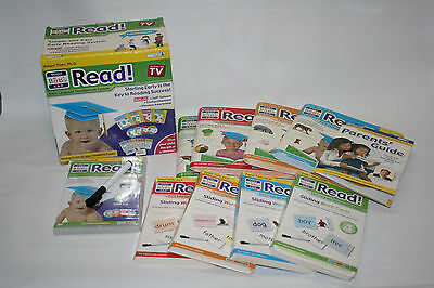 Your My Baby Can Read Set w/ Volume 1-4 DVD, Books  & Cards Unused Open Box