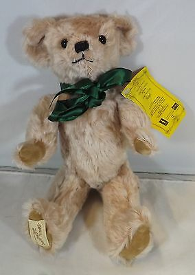 "Modern 11"" Dean's Mohair Jointed Teddy Bear 'herbert' Collector's Club Ltd. Ed."