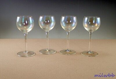 Dorothy Thorpe Crystal Bubble Iridescent Cordial Set Of 12
