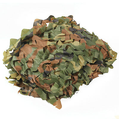 Woodland Leaves Camouflage Net Jungle Camo Netting Camping Military 1.5M*2M