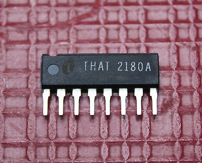 that2180a 2180AL08-U  THAT  Operational amplifier  Pre-Trimmed VCA SIP8