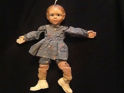 Vintage Emily Ann Effenbee Composition Doll 1930's Marionette