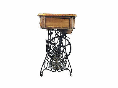 Original Singer Sewing Machine Treadle Table, Telephone Stand, Coffee Table