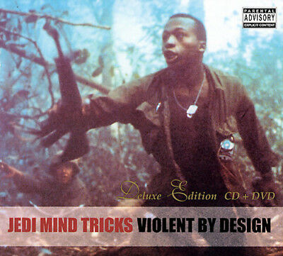 Jedi Mind Tricks - Violent By Design [New CD] Explicit, Bonus DVD, Deluxe Editio