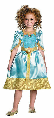 BRAVE MERIDA DISNEY PIXAR CHILD COSTUME HALLOWEEN Cosplay Fancy Dress G3