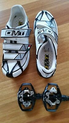 Ladies Road/Mtb cycling shoes and pedals