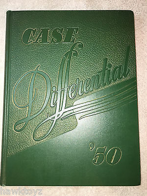 1950 Case Differential Yearbook Western Reserve University Cleveland Ohio Annual
