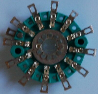 Rotary Switch Wafer, Miniature Break Before Make 1 Pole, 12 Way. 3 Off