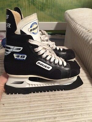 Bauer Impact 40 Ice Hockey Skate Size 6 With Carrier Bag