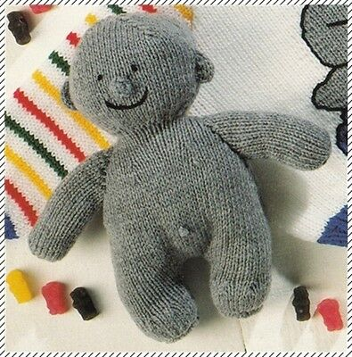Patons Knitting Pattern Book ~ JELLY BABIES ~ 2 Cute patterns  DK 8 Ply