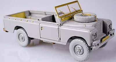 Upgrade set for Land Rover series III 1/35 scale