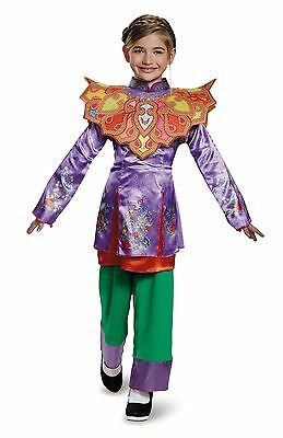 ALICE THROUGH THE LOOKING GLASS CHILD COSTUME Halloween Cosplay Fancy Dress G4