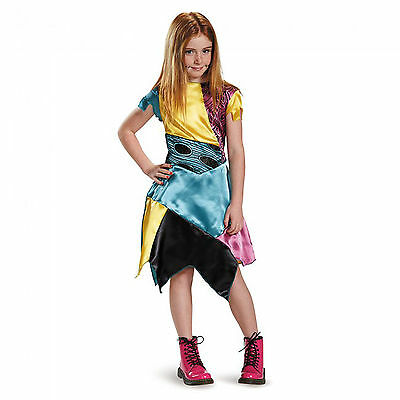 SALLY NIGHTMARE BEFORE CHRISTMAS CHILD COSTUME Halloween Cosplay Fancy Dress G4