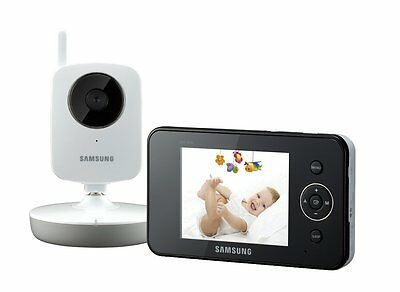 Samsung SEW-3030 Digital VIDEO + SOUND Baby Monitor 3.5 Inch COLOUR LCD Screen