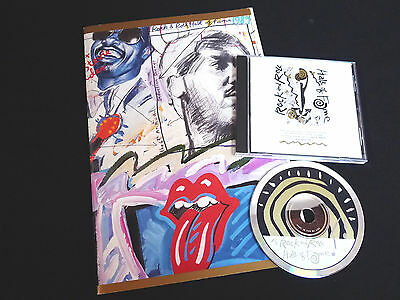 Rolling Stones - Hall Of Fame 1989 - Induction Dinner Program + Promo Cd - Nm