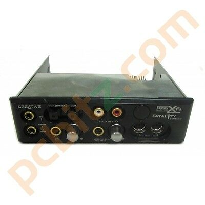 Creative Sound Blaster X-FI Fatal1ty Front Panel SB0250