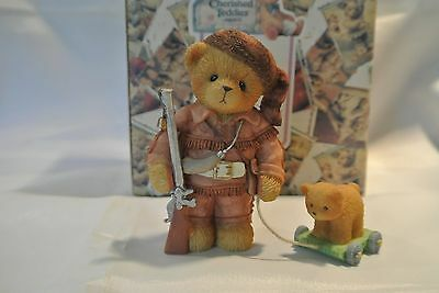 Cherished Teddies DANNY from the AMERICAN HEROES COLLECTION SERIES - NIB