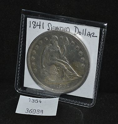 West Point Coins ~ 1841 Seated Liberty Silver Dollar
