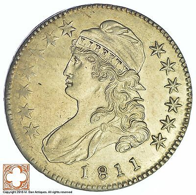 1811 Capped Busted Half Dollar *XB93