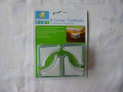 New! Especially for Baby Clear Furniture Corner Cushions 8 Pack