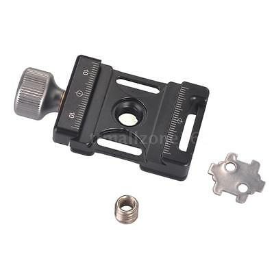Screw Knob Mini Quick Release Clamp Compatible with Arca Swiss for 38mm QR Plate
