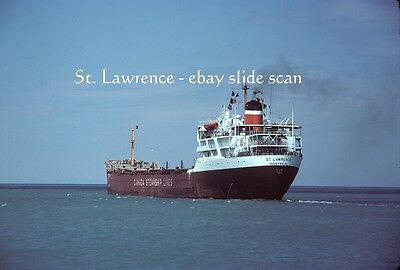 Original Great Lakes Ship Slide - ST. LAWRENCE - August 1979