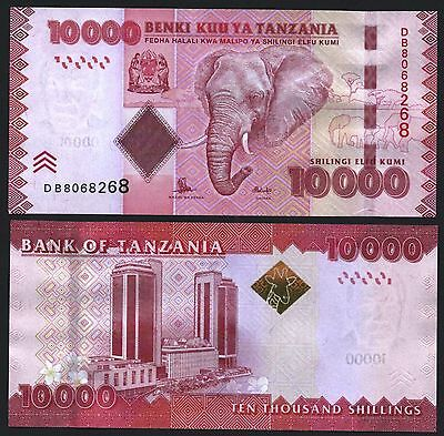 Tanzania P44***10000 Shilling***nd 2015***unc Gem***look Super Scan