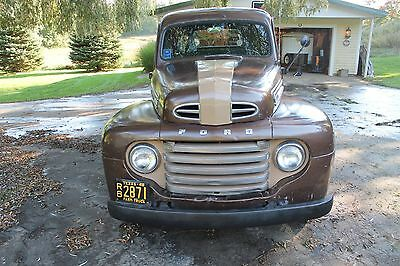 1948 Ford F-100  1948 ford F1 Pick Up