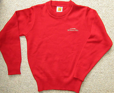 Interlochen Fine Arts Camp Red Sweater Required For On Stage Performances Y Med