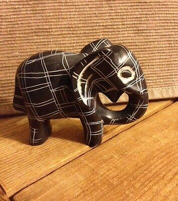 Elephant Stone Carved Made In Kenya!