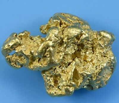 #202 Alaskan-Yukon BC Natural Gold Nugget 3.91 Grams Genuine
