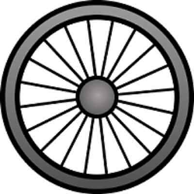 30 Custom Bicycle Wheel Personalized Address Labels