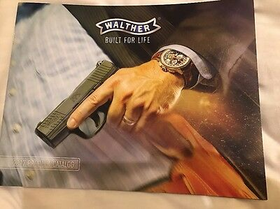 2017 Walther Product Guide Catalog Shot Show Las Vegas, NV 2017